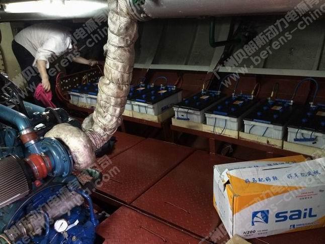 船用24伏发电机接线图
